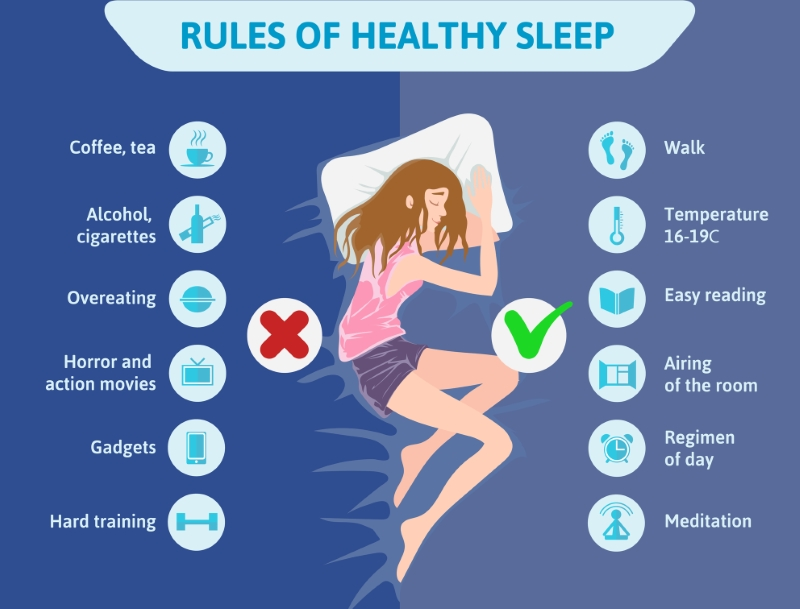 This is the image for the news article titled 10 Tips For Better Sleep