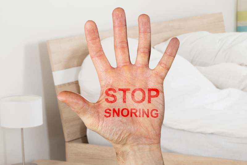 This is the image for the news article titled The Dangers of Snoring
